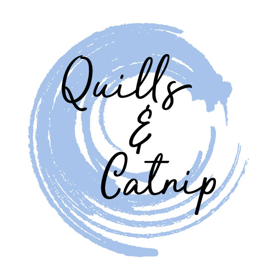 Logo design for Quills & Catnip